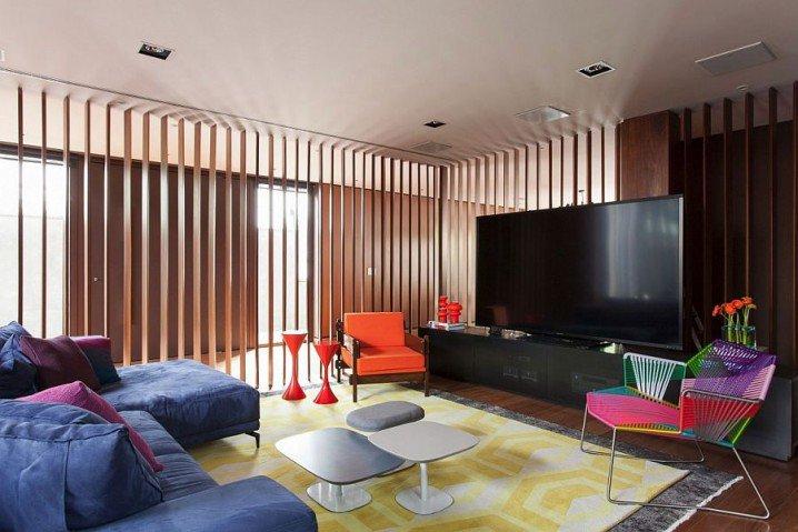 Những thiết kế màu sắc nội thất mang lại không gian tươi mới - 1