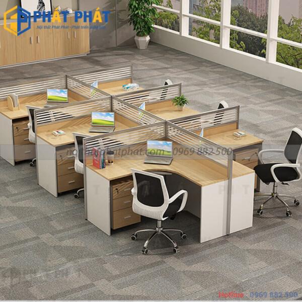Nên hay không sử dụng bàn làm việc văn phòng có vách ngăn ? - 2