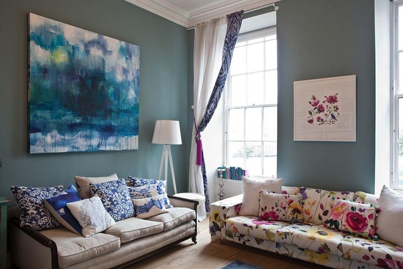 Những thiết kế màu sắc nội thất mang lại không gian tươi mới