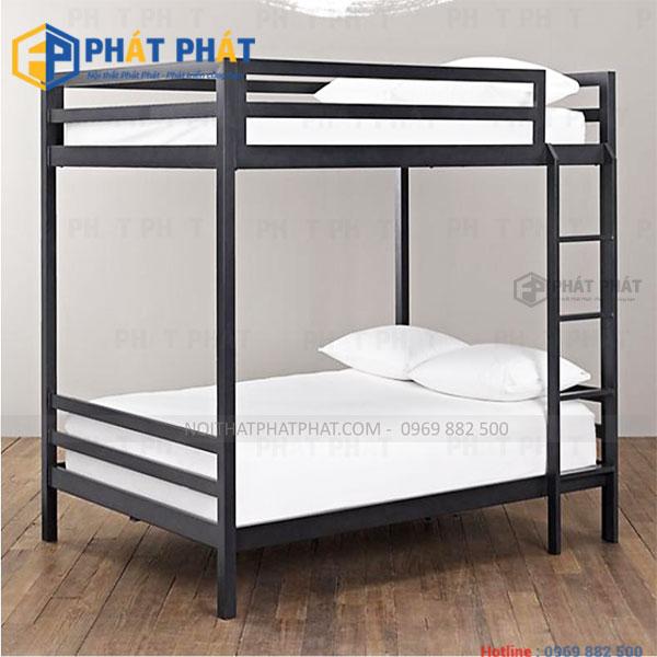 Sản phẩm giường tầng sắt với những thiết kế đẹp mắt