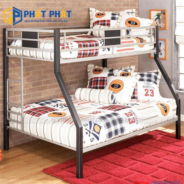 Sản phẩm giường tầng sắt với những thiết kế đẹp mắt - 1